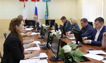 ВКадуе обсуждают обеспечение безопасности жителей вначале сентября