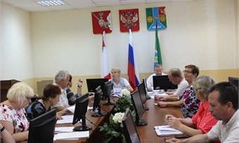 Совет ветеранов Кадуйского района обсудил насущные проблемы поселка