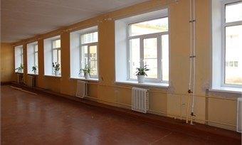 ВКадуйской средней школе идет масштабный ремонт