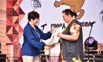 Мастер кукол изХохлово стала призером регионального фестиваля «Город ремесел»